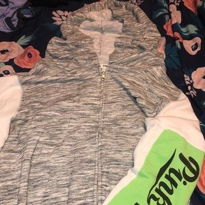 PINK victoria secret full zip hoodie